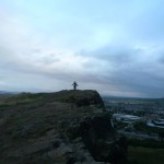 Hicking to Arthur's seat.