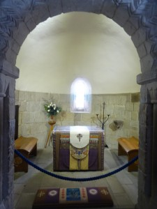 Interior of St Margaret's Chapel