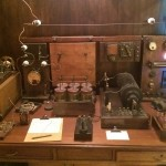 The same type of communication radio was installed on Titanic and was produced by Marconi's Wireless Telegraph Company, Ltd.