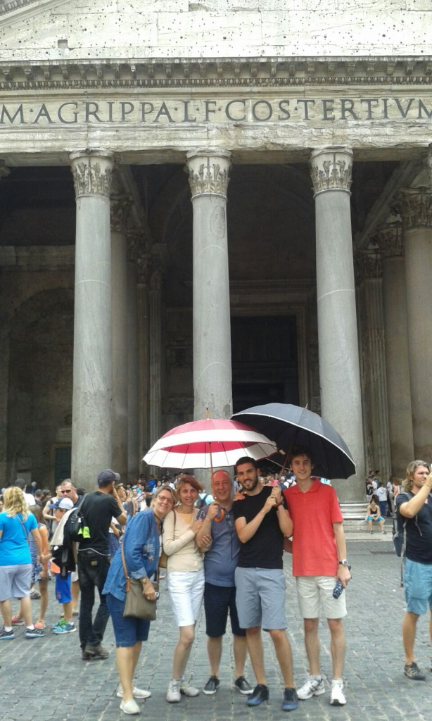 In front of Pantheon