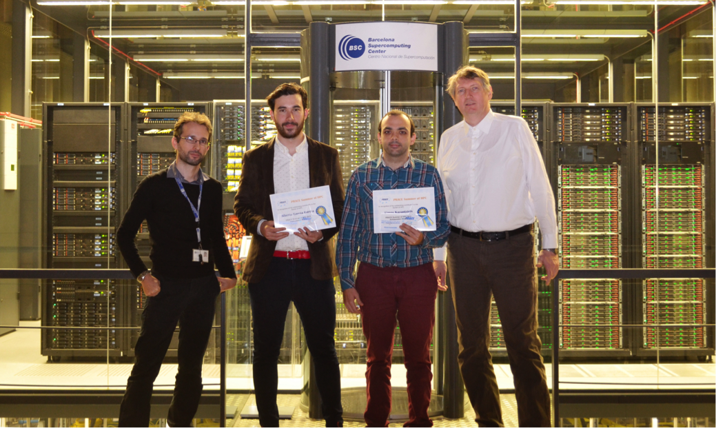 PRACE Summer of HPC 2015 Award Winners