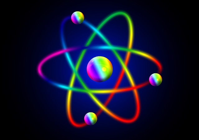 QCD studies how quarks and gluons stuck together to form protons and neutrons in the atoms.