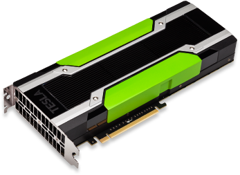 This is an NVIDIA GPU: a small dimension but a big computational power.