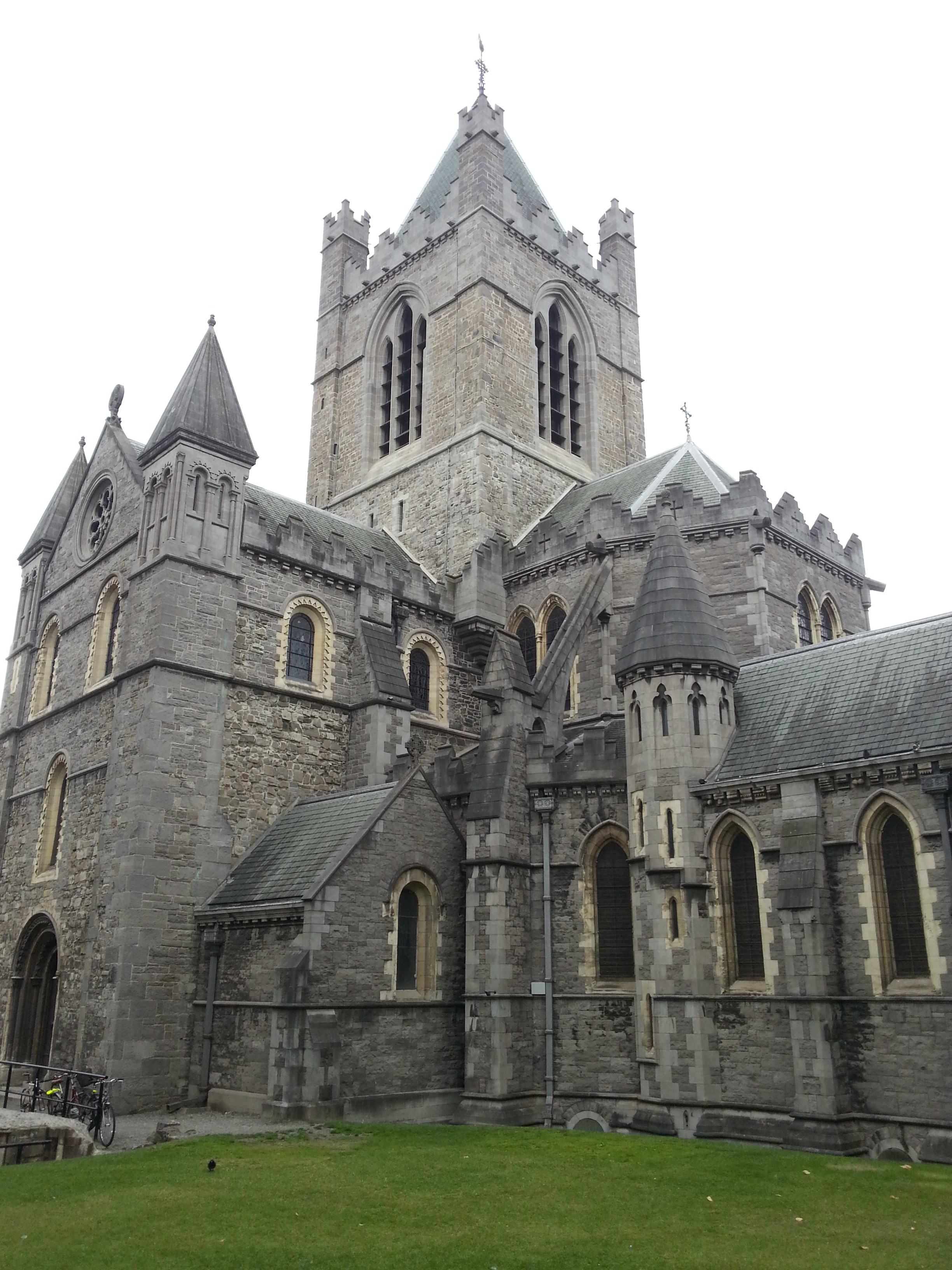 Christ Church Cathedral, Dublin - one of the two main city cathedrals