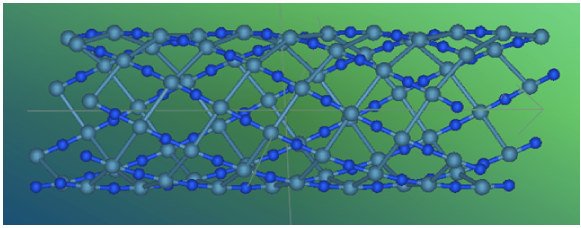 Calculation of nanotubes by utilizing the helical symmetry properties