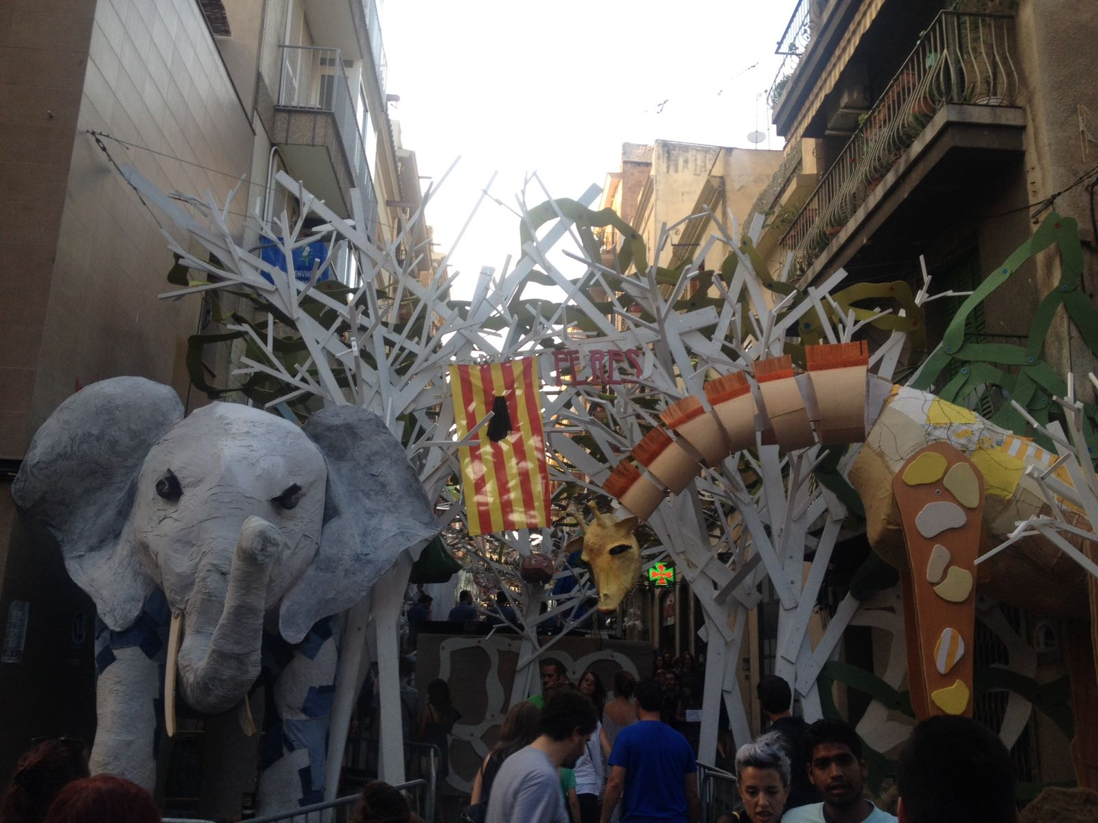 decorations for the gracia festivals