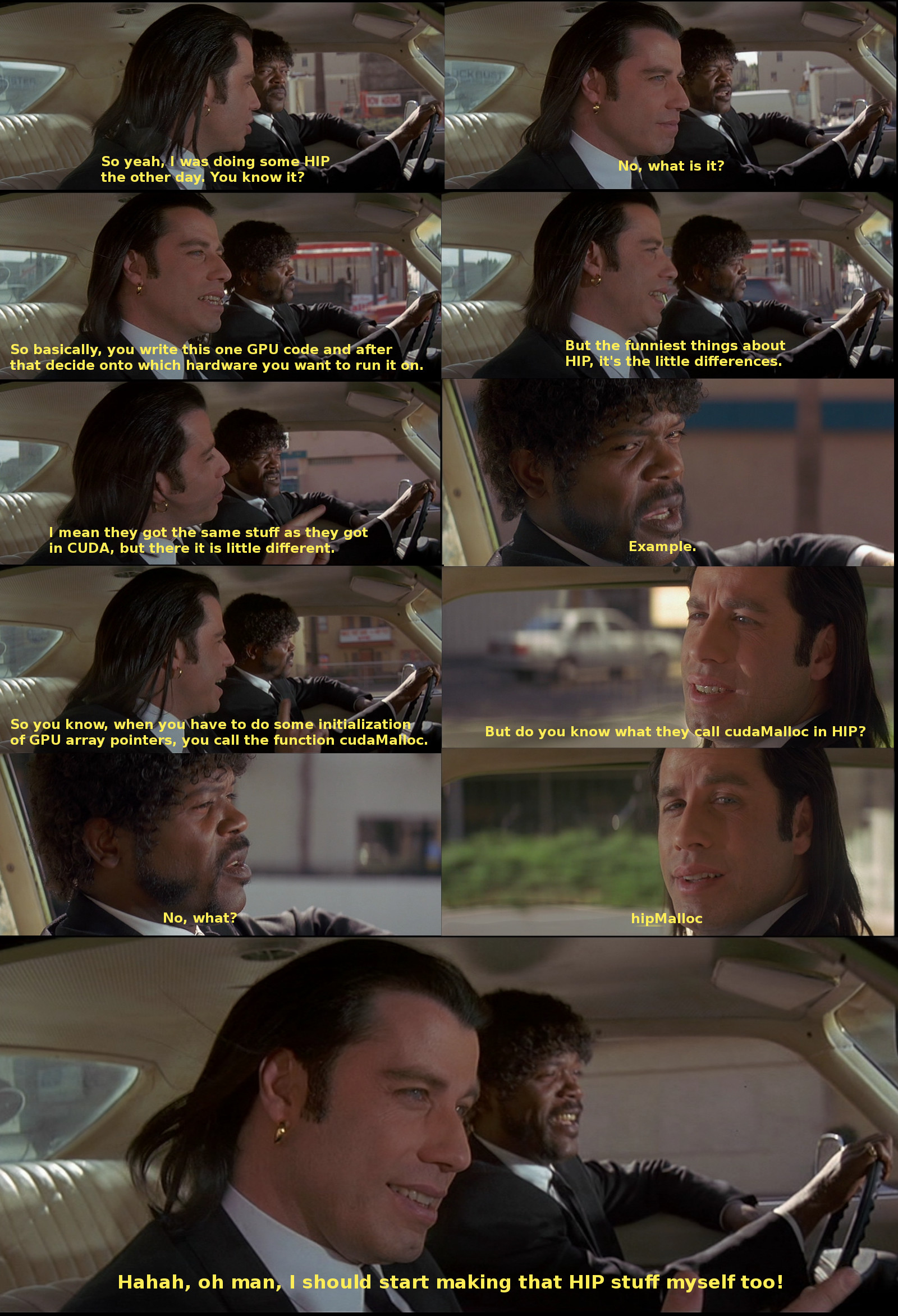 pulp fiction comic. If you're reading this text, you're missing out on the joke, because the image isn't shown