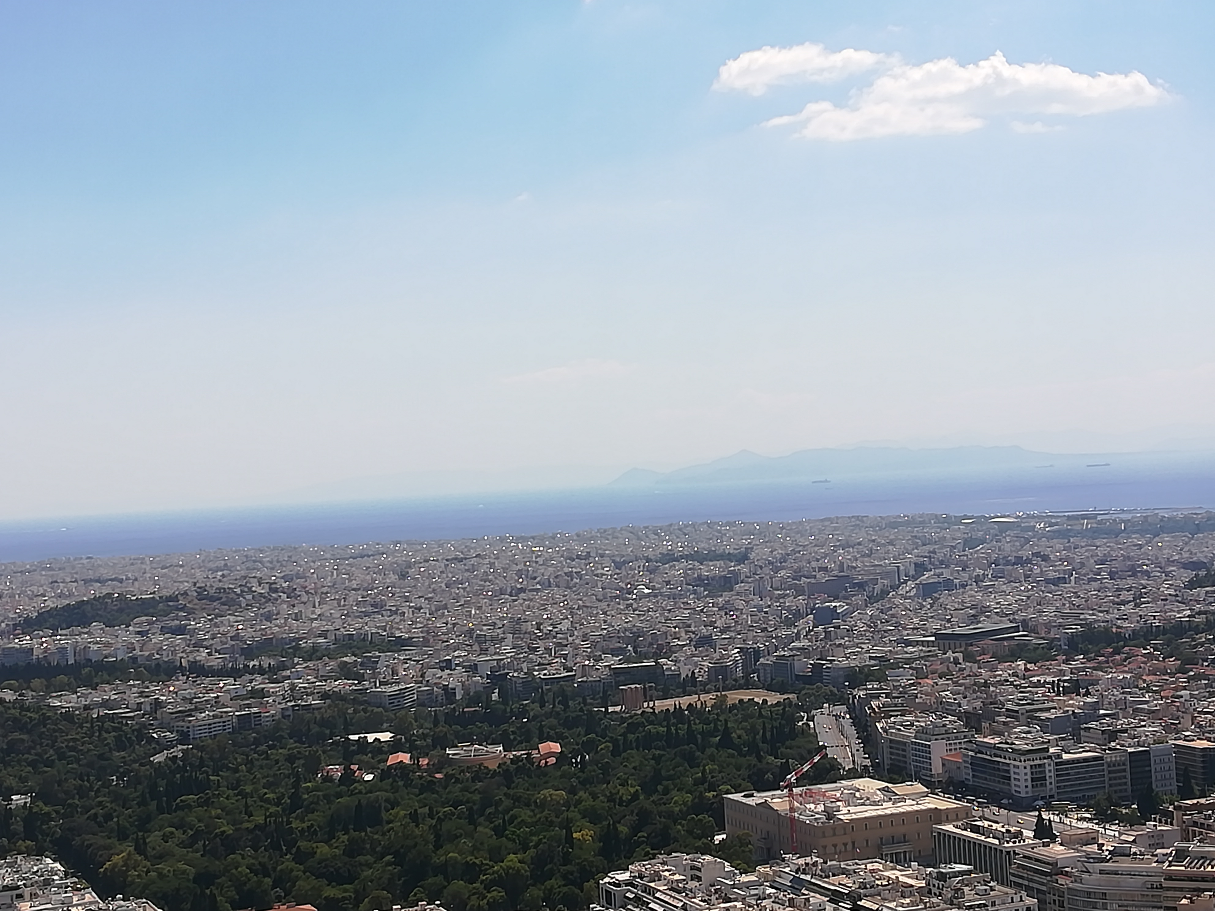 fb5a249eca723 I leave you with another picture from my various trips across Athens, this  time an incredible view of the city from the top of Mount Lycabettus. See  you ...