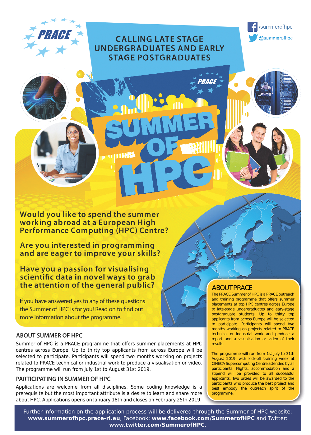 2f417fd9c2b PRACE Summer of HPC 2019 opens applications