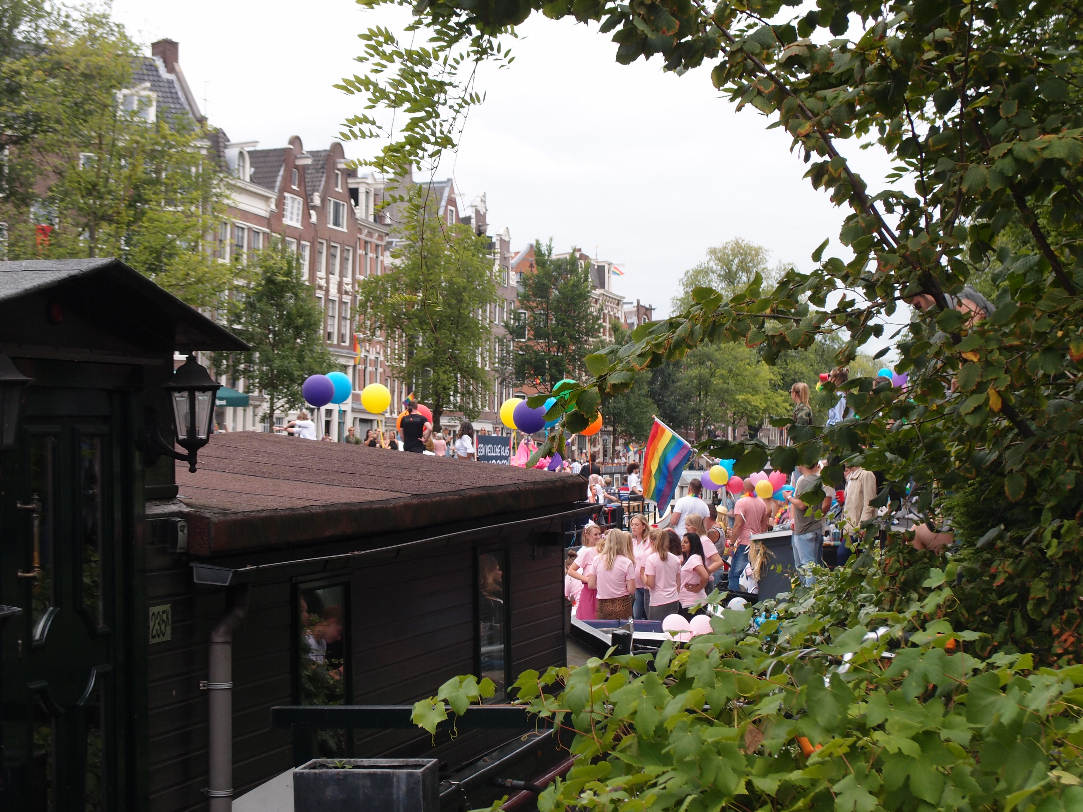 Pride Canal Parade Amsterdam