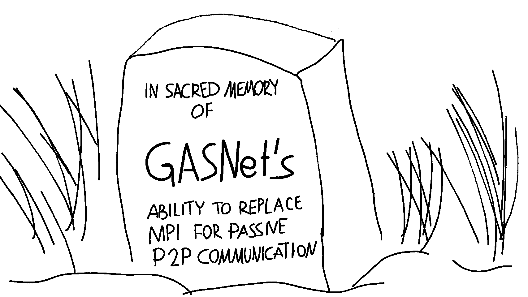 Goodbye, GASNet!