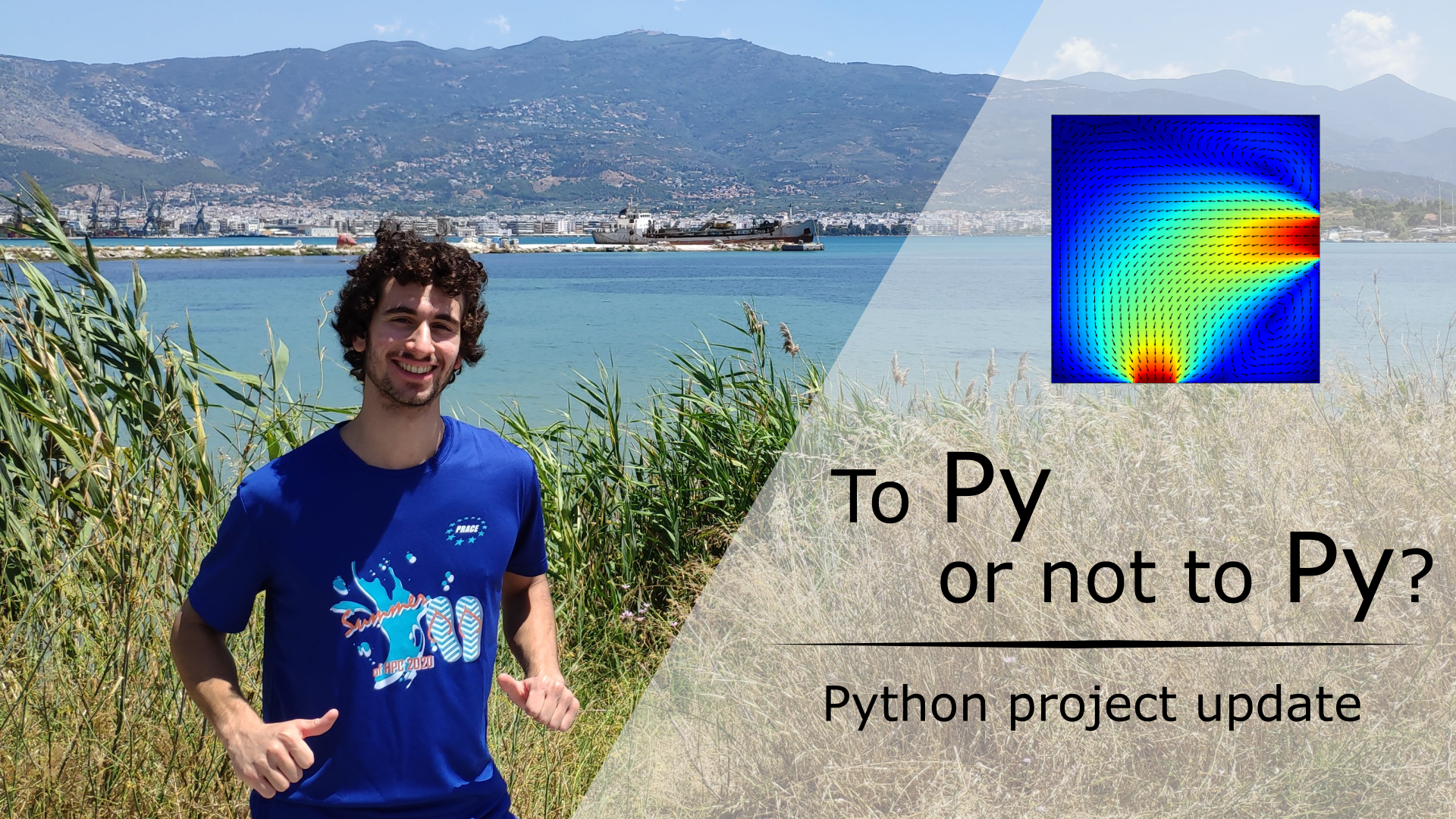 To Py or not to Py? – Python project update