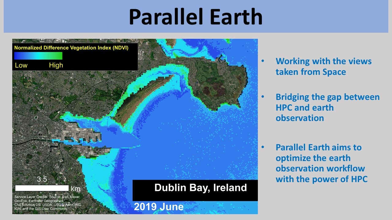 Parallelizing Earth Observation Workflow