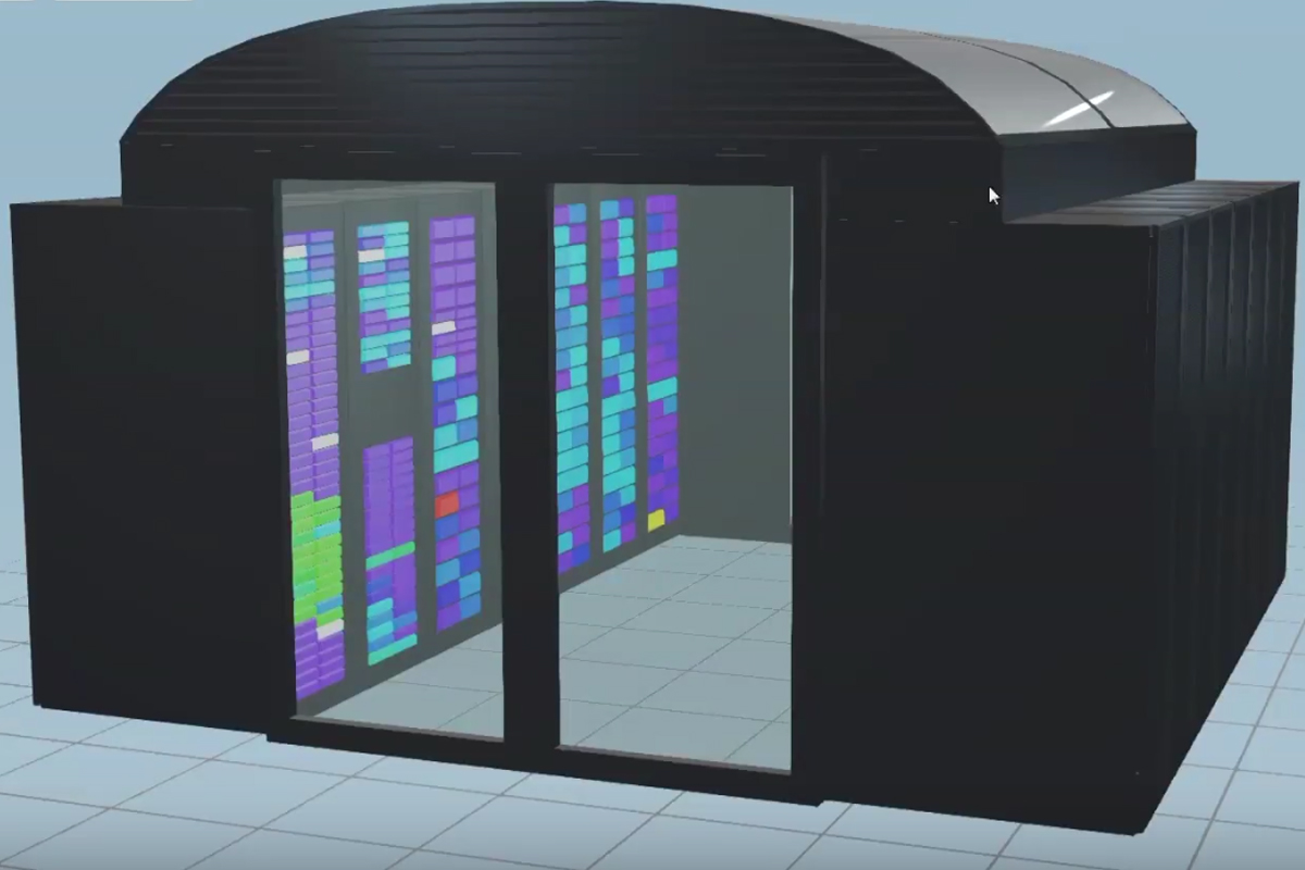 Digital twin of a datacentre